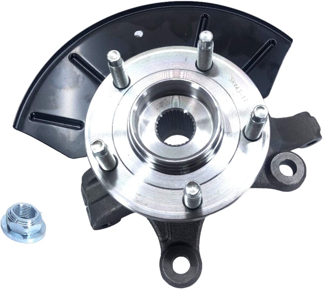 Doc's Loaded Steering Knuckle Front fits Bombing free shipping F 2001-2012 Max 70% OFF Side Driver