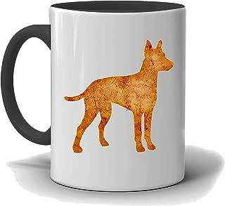 Manchester Terrier Custom Dog Mug, Black and White Mug, I Love My Manchester Terrier