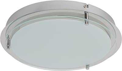 /& Deckenleuchte Livorno weiß//titanium 7W = 60W E27 Filament Brilliant LED Wand