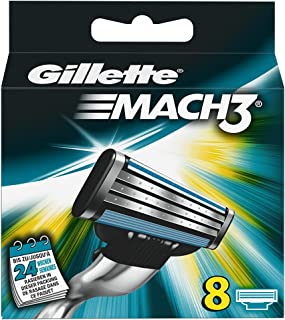 Uitloopmodel Gillette MACH3 messen 8 stuks