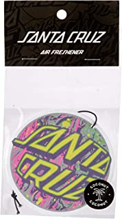 Santa Cruz Men's SPILL DOT AIR REFRESHNER, Assorted, O-S