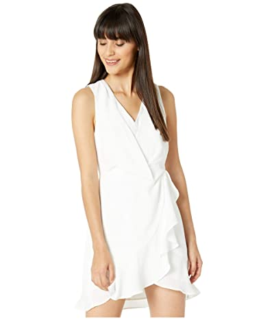 BCBGMAXAZRIA Sleeveless Cocktail Dress (Off-White) Women