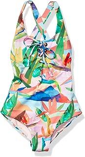 Maaji Girls' Lace Up Tie One Piece Swimsuit