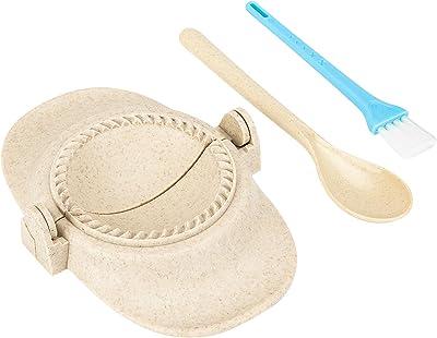 Empanada Press Ravioli Moldes para hacer bolas de masa hervida Pierogi Dumpling Maker Prensa Envoltura Pastelería, Cortador de masa y accesorios de cocina para la cocina del hogar