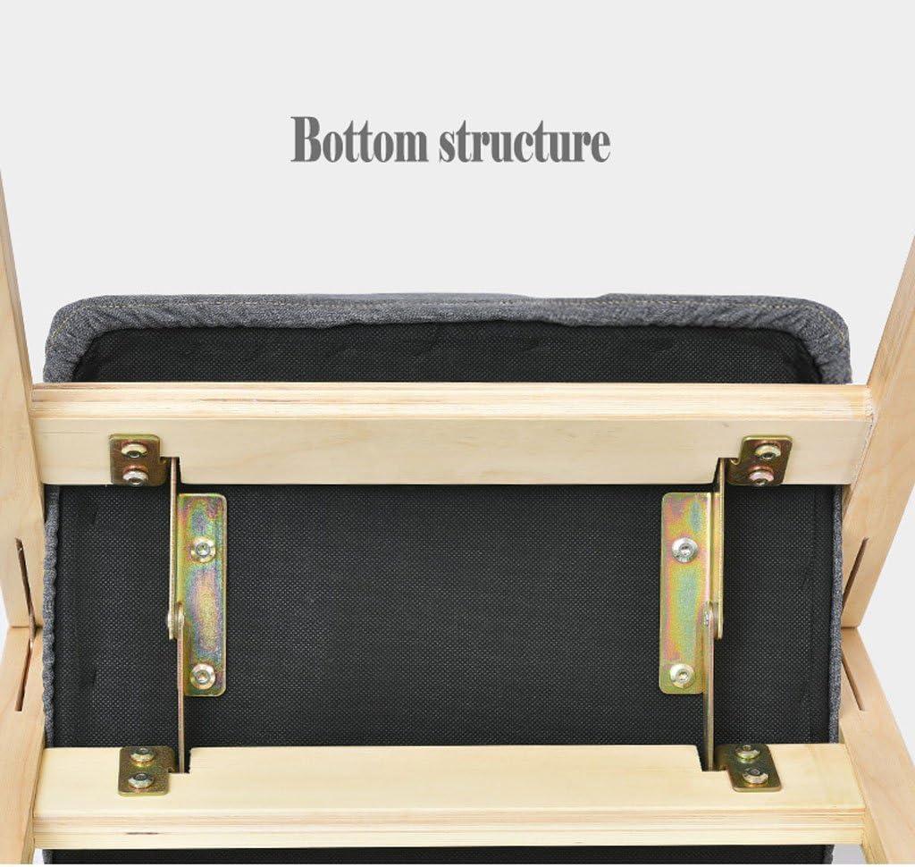SLL- Chaise de ménage Chaise Moderne Simple Dossier Chaise de Bureau Restaurant à Manger Chaise Adulte Chaise Pliante en Bois Moderne (Color : B) A