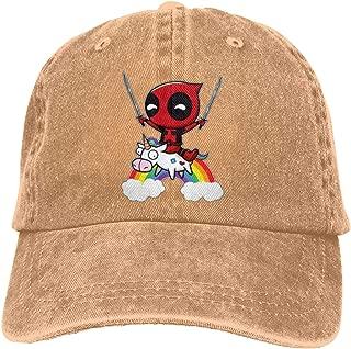 JHJ-KJKD-DKSJKD-dhn Deadpool Unisex Adjustable Hat,Natural Hat Dry