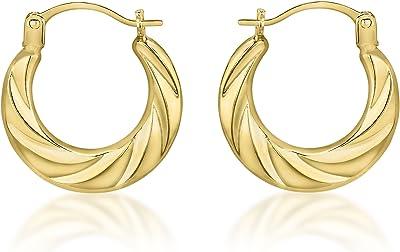 Carissima Gold 7.53.3799 - Orecchini a cerchio in oro giallo 18 kt