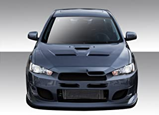 Brightt Duraflex ED-XDL-711 I-Spec Front Bumper Cover - 1 Piece Body Kit - Compatible With Lancer 2008-2017