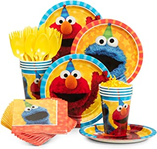 BirthdayExpress Sesame Street Party Supplies Snack Party Pack for 8