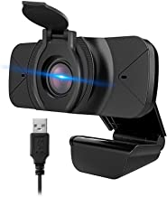 NZACE 1080P Webcam with Microphone, Web Cam USB Camera, Computer HD Streaming Webcam for PC Desktop & Laptop w/Mic, Wide A...