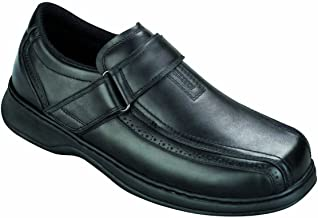 Orthofeet Pain Relief Arch Support Orthopedic Wide Diabetic Loafers Casual Strap Mens Shoes Lincoln Center