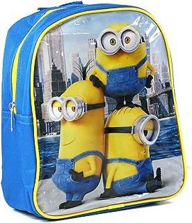 Minions MN16399 Mini Backpack Azul Medidas 26,8 x 24,2 x 2,6 cm