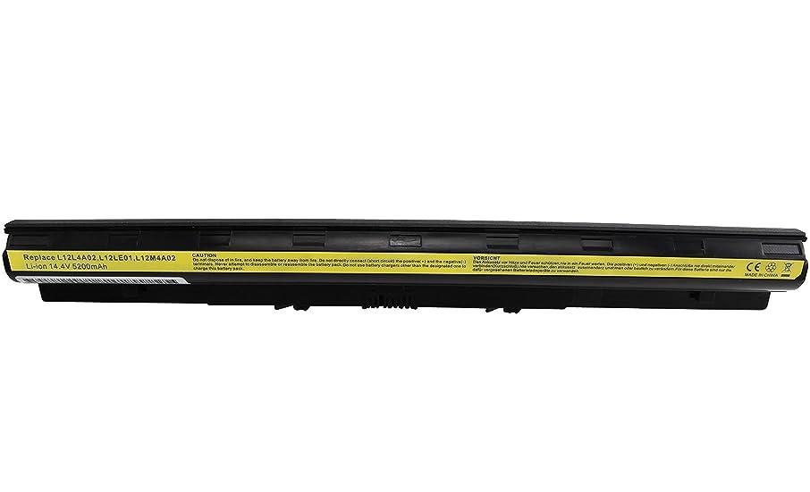 Shareway L12L4A02 Replacement Laptop Battery for Lenovo IdeaPad G400S G405S G410S Eraser G50-70M Z50-75 G40-80 Z40-75 G70-35 G70-70 L12S4E01 L12M4E01 L12L4E01 [14.8V 5200mAh] - 12 Months Warranty!