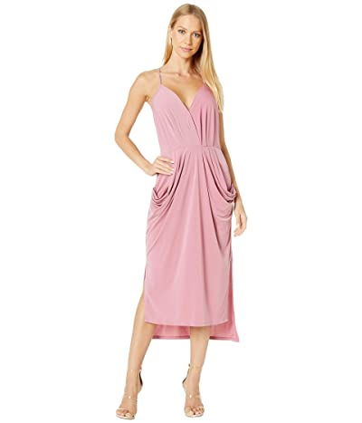 BCBGeneration Drapey Pocket Midi Dress YDM6169244 (Heather Rose) Women