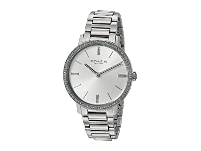 COACH Audrey 14503353 (Silver/White) Watches