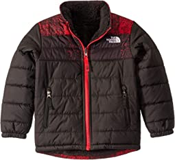 TNF Red Buff Check Print