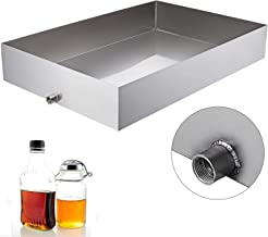 VBENLEM Maple Syrup Evaporator Pan 36x24x6 Inch Stainless Steel Maple Syrup Boiling Pan for Boiling Maple Syrup