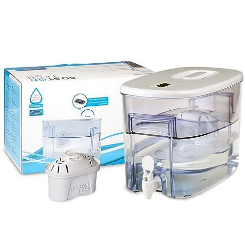 Boston Tech Fresia, dispensador de Agua Filtrada Compatible con filtros Brita Maxtra, Maxtra Plus