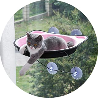 shine-hearty Cat Litter Suction Cup Hanging nest Summer Four Seasons Universal Hanging Window sill pet Supplies cat Hammock Large