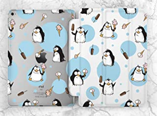 Funny Penguin Ice Pattern Case For Apple iPad Mini 1 2 3 4 5 iPad Air 2 3 iPad Pro 9.7 10.5 11 12.9 inch iPad 9.7 inch 2017 2018 2019
