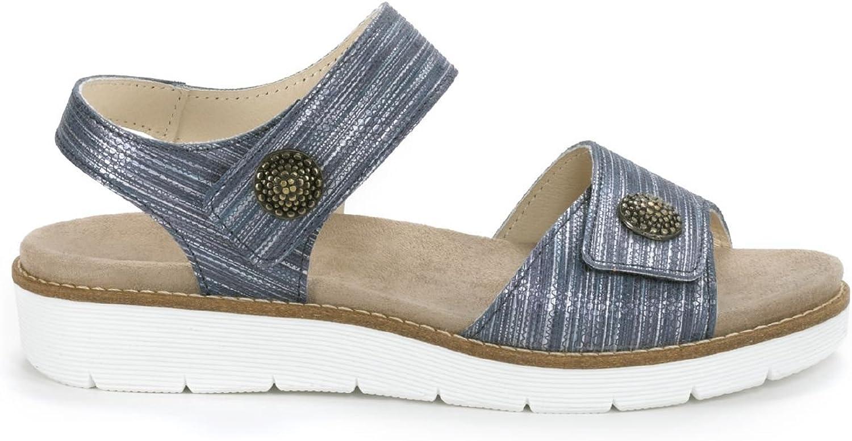 Avena Damen Damen Klett-Sandale Supersoft Blau 36  Großhandel billig und von hoher Qualität