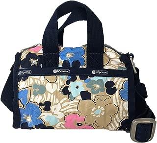 LeSportsac Essential Mini Weekender Crossbody Bag, Ocean Blooms C