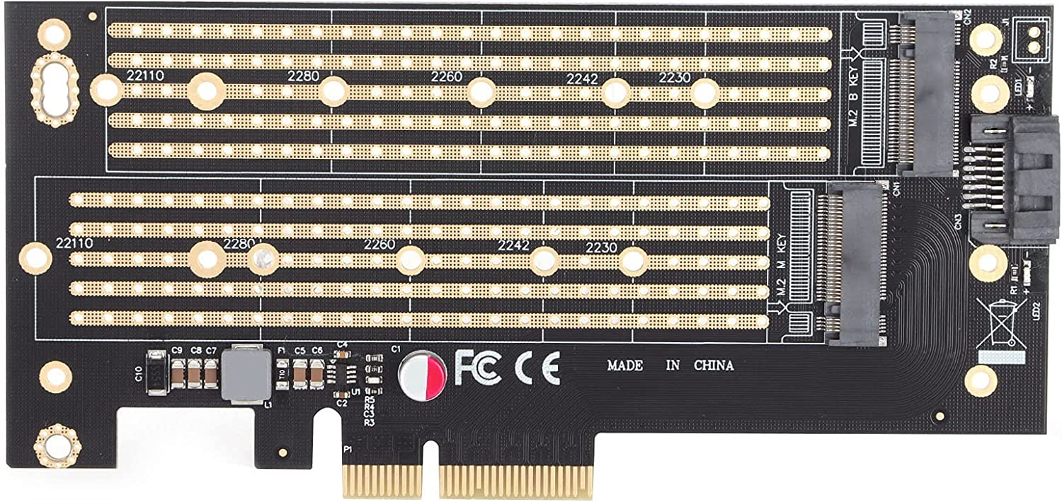 PCIE M.2 Adapter M Key Max 41% OFF NVMe SSD Ranking TOP20 Card for Expansion 8.1 Win 8 10