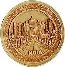 Round Shape Taj Mahal India 3D Fridge Magnet