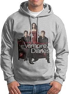 MARC Men's The Vampire Diaries Sweatshirt Ash Size L