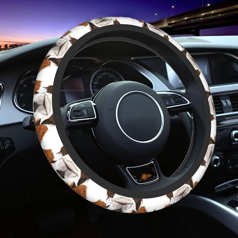 JOEKAORY Crystal Gomoku Print Steering Car Slip Cover Anti High Ranking integrated 1st place material Wheel