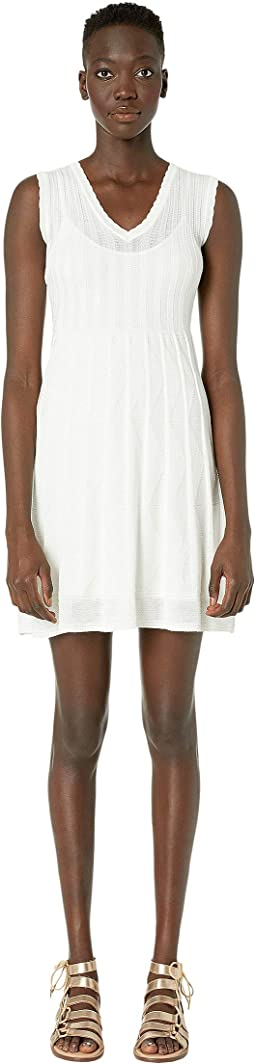 Sleeveless Short Dress in Fit & Flare