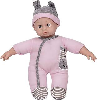 Wowow Toys & Games Pink Playtime Baby Doll |الأطفال يتظاهرون لعب الدمى مثالية لعربات عربات العربات العظماء الأدوار متعة ال...