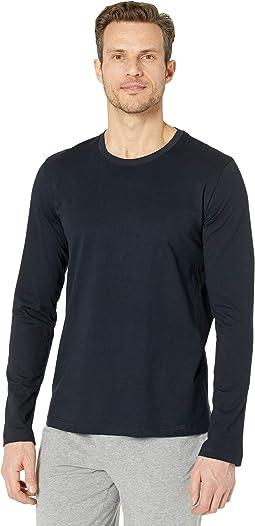 Living Long Sleeve Crew Neck Shirt