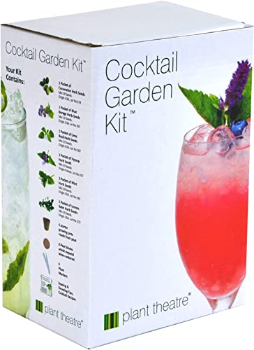 wholesale Plant Theatre Cocktail Garden Kit - 6 Varieties to Grow - Great Grow Kit Gift for The Gardener - Everything You Need to Start outlet online sale Growing in online one Box! sale