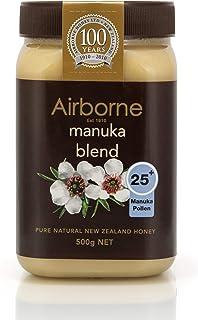 Airborne (New Zealand) Manuka 25+ with Pollen Blend Honey 500g / 17.85oz