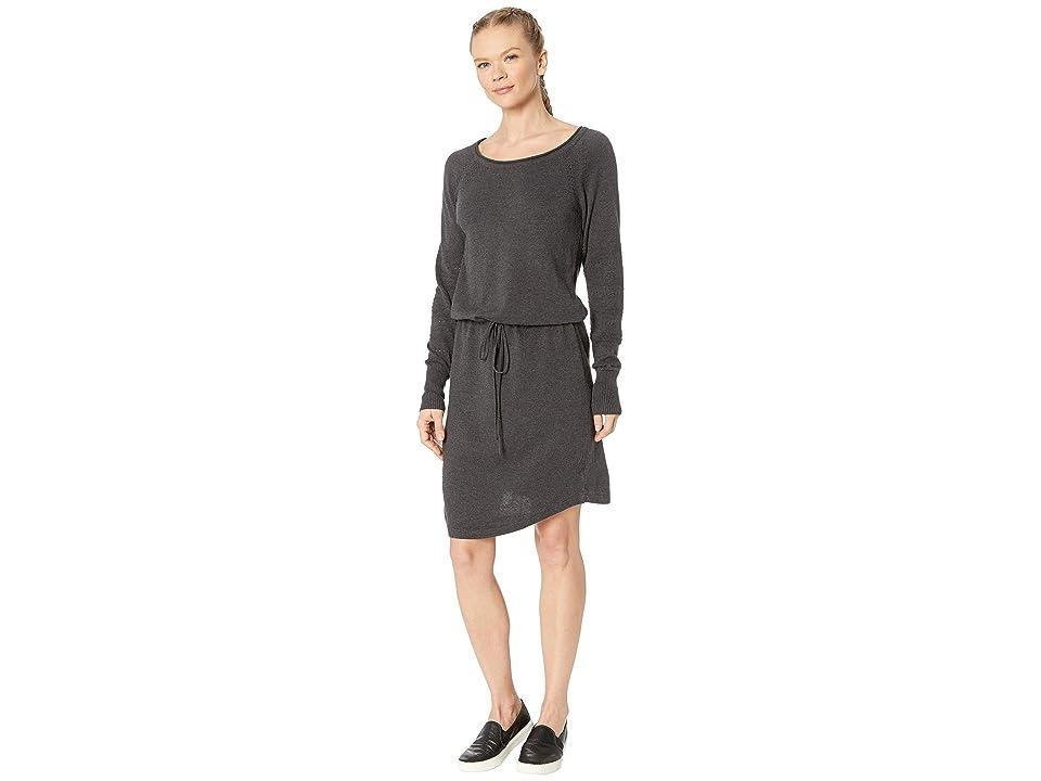 Prana Leigh Dress (Black Heather) Women