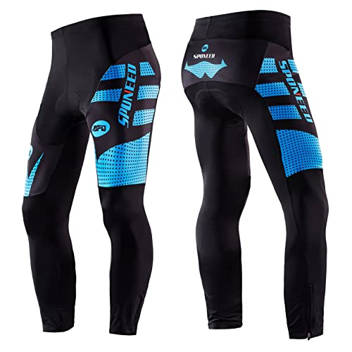 sponeed Men s Bicycle Pants 4D Padded Road Cycling Tights MTB Leggings  Outdoor Cyclist Riding Bike Wear 5918246f8