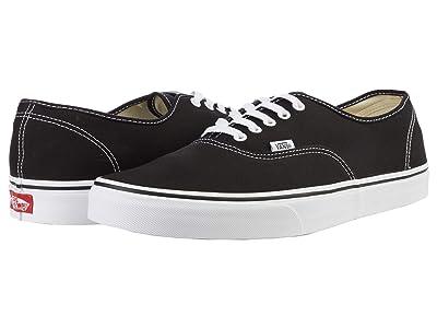 Vans Authentic Core Classics (Black) Skate Shoes
