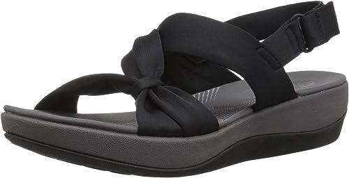 CLARKS damen& 039;s Arla PrimRosa Sandal, schwarz schwarz schwarz Fabric, 11 Wide US  Wir bieten verschiedene berühmte Marke