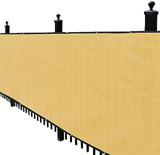 Sponsored Ad - Kanagawa Privacy Screen Fence 4` x 50` Mesh Windscreen for Backyard Deck Patio Balcony Pool Porch Railing, ...