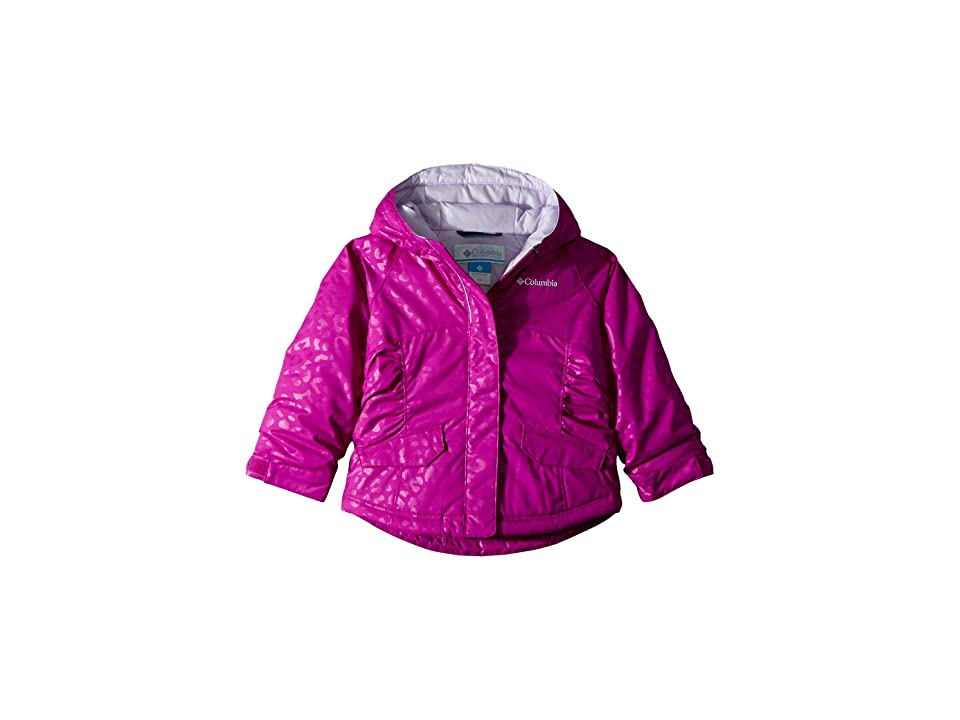 Columbia Kids Razzmadazzletm Jacket (Little Kids/Big Kids) (Bright Plum Emboss/Soft Violet) Girl