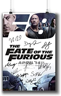 fast and furious signed memorabilia