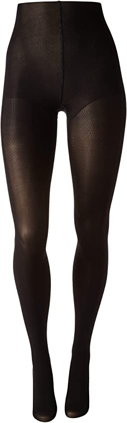 Velvet Touch Opaque Control Top Tights w/ 80 Denier