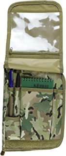 Zip Zap Zooom Army Combat Militray A5 Note Orders Book Map Holder Binder Folder Cover Surplus All Terrain BTP Camo New