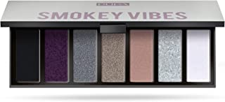 Pupa Milano Make Up Stories Compact Palette - Palette Of 7 Multi-Finish Eyeshadows - 3 Ultra-Performing Textures With Inst...
