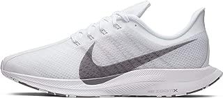 Zoom Pegasus 35 Turbo Men's Running Shoe (10.5, White/Gunsmoke/Vast Grey)