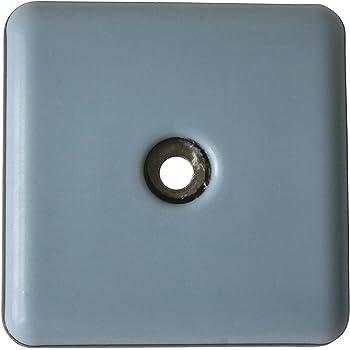 PTFE M/öbelgleiter 5 mm stark GLEITGUT 16 x Teflongleiter zum Schrauben rund 22 mm