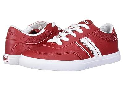 Lacoste Kids Court-Master 319 1 (Little Kid) (Red/White) Kid