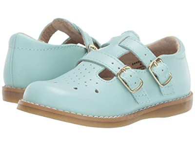 FootMates Danielle 3 (Infant/Toddler/Little Kid) (Mint) Girls Shoes