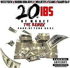 20lbs of Money (Remix) [feat. Bobbii Bon Jovi, Scane, Willie725 & Sharp da P] [Explicit]
